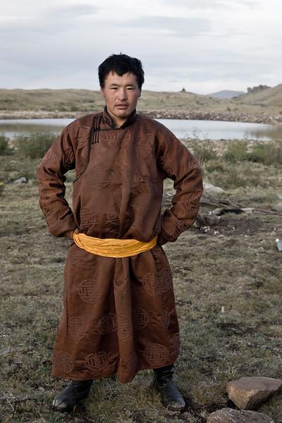 Trip to Blue Lake. Mongolia.