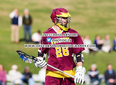 4/28/2015 - Boys Varsity Lacrosse - Weymouth vs Needham