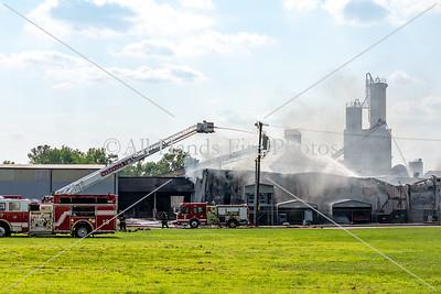 20180825 - Nashville - Building Fire / HAZMAT