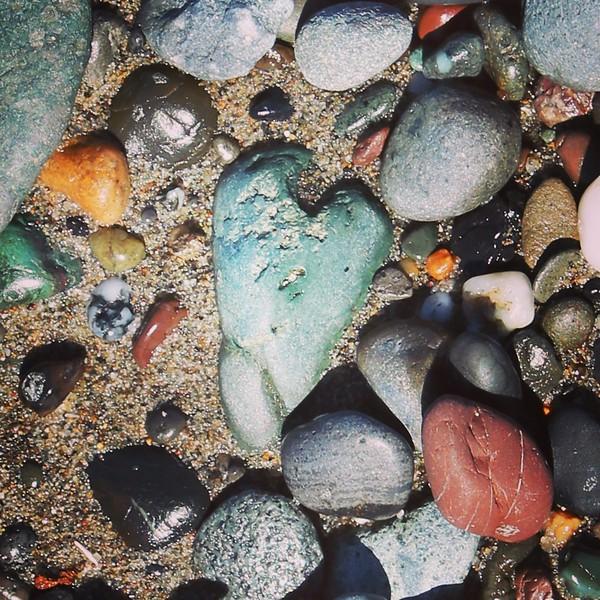Heart Rock in Northern California
