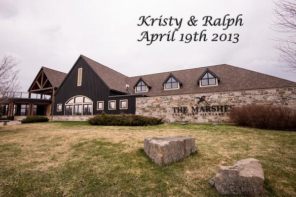 Kristy_&_ Ralph_ Wedding April 19th 2013