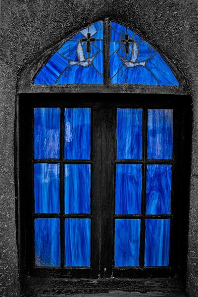 Church Window at Taos Pueblo