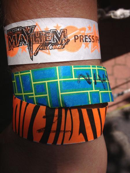 Marked man at Mayhem