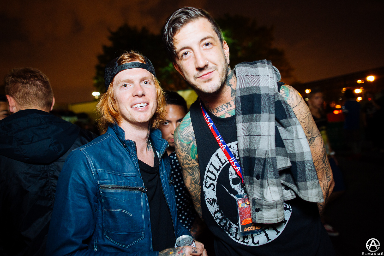 Alan Ashby and Austin Carlile of Of Mice & Men