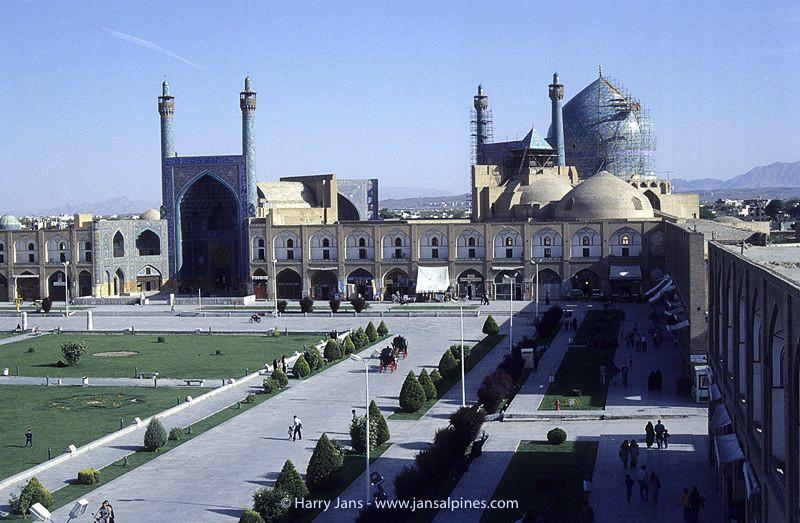 Iman Khomeini Square in Esfahan