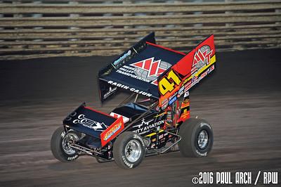 Knoxville Raceway - 8/13/16 - Paul Arch