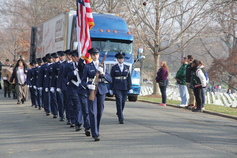 Junior ROTC Corps from NC