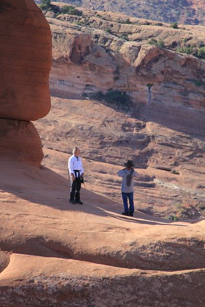 20180716-027 - Arches NP - Dad and Brian at Delicate Arch.JPG