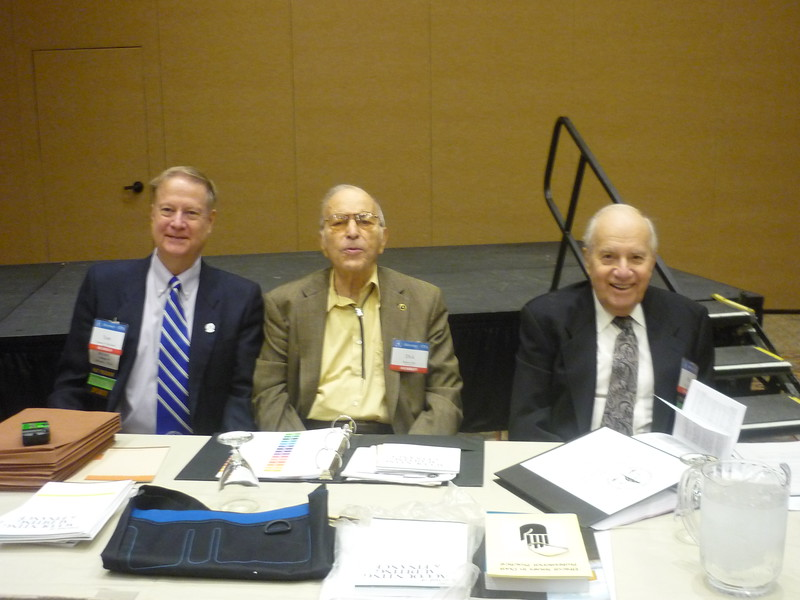 Tom McCulloch, Dick Orin and Phil Brent present on the Dual Practice Roundtable