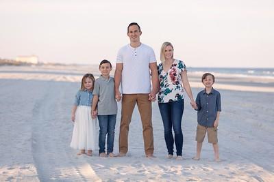 Wildman Family Portraits, Jacksonville Beach, Florida