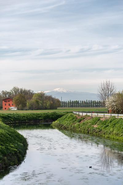 Canale Naviglio - Albareto, Modena, Italy - April 8, 2019