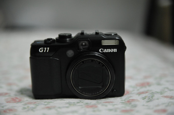 Canon PowerShot G11 and 2 CPL Filters