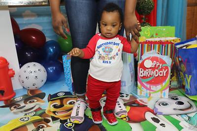 KIRK ,JR 1ST BIRTHDAY PARTY
