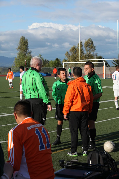 2015 Auburn Mountainview Boys Soccer - Senior Night - May 4