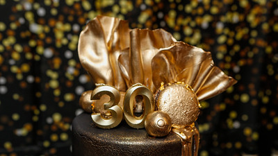 GOLDY'S ALL BLACK SURPRISE 30th BIRTHDAY AFFAIR