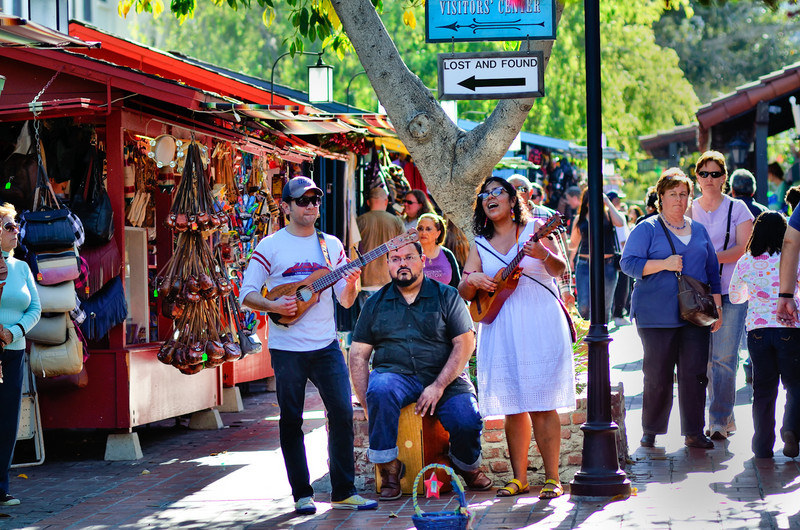 Los Angeles - Olvera Street