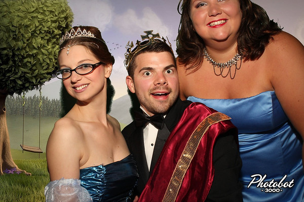 April, Caleb, and Sarah's Pretty Pretty Princess Prom!