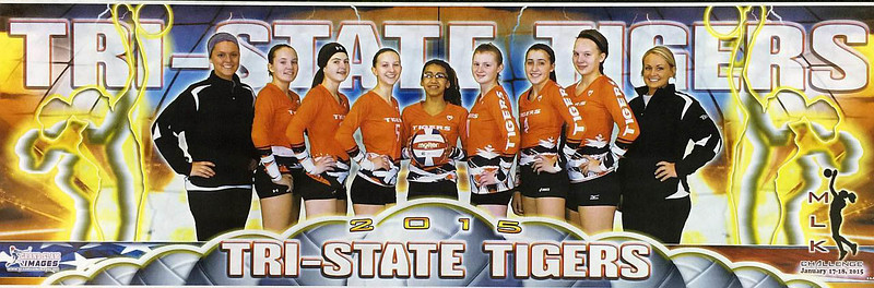 2015-01-17 Tri-State Tigers Volleyball MLK Tourney