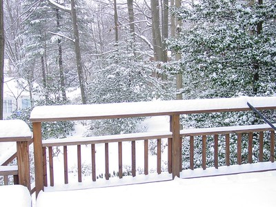 More snow: Jan 26, 2004