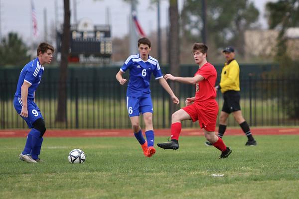 2017 Varsity Boys soccer vs Brazos Christian
