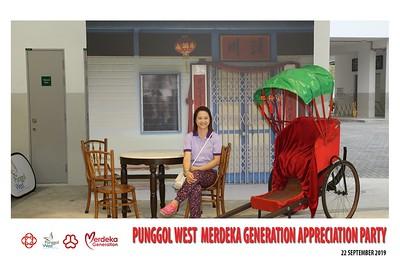 Pungool West Merdeka Generation Appreciation Party