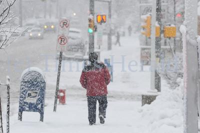 Snow blankets Montgomery County
