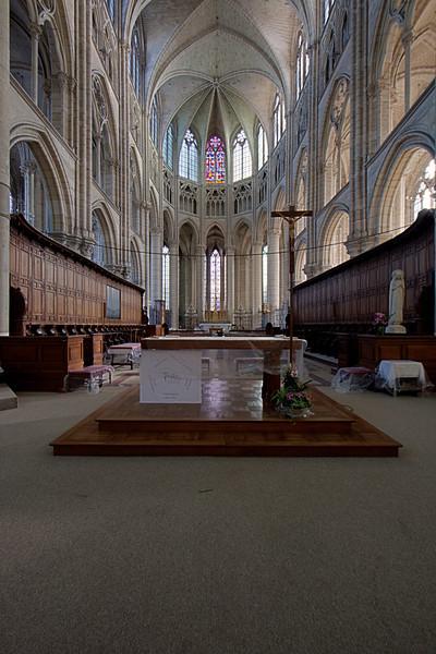 Meaux, Saint-Etienne Cathedral Choir
