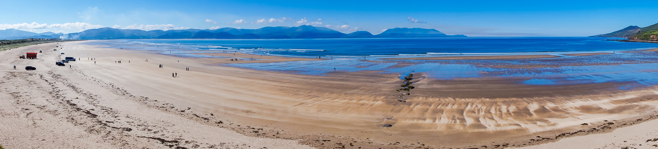 Inch Beach outside of Dingle en route to Killarney NP.