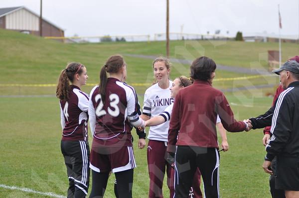Girls Class B Soccer Playoffs: Ellsworth Vs. Caribou: October 26, 2010
