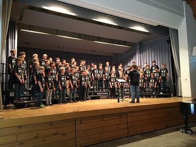European Middle School Honor Boys' Choir