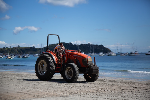 Tractors from beach races 2017 & 2019
