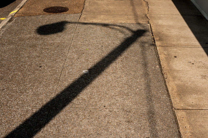 Shadow Of A Light-pole