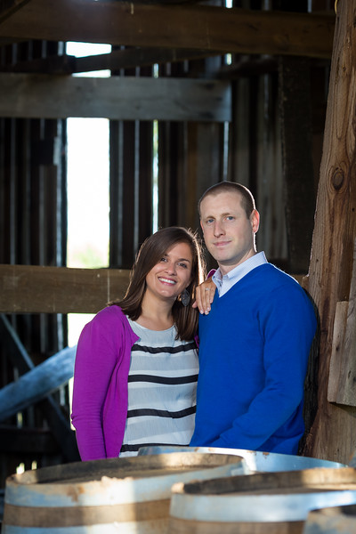 Katie & Andrew's engagements at Talon Winery 10.20.13.