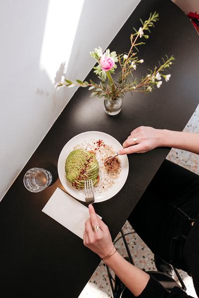 Food at Café Paradiso in Geneva