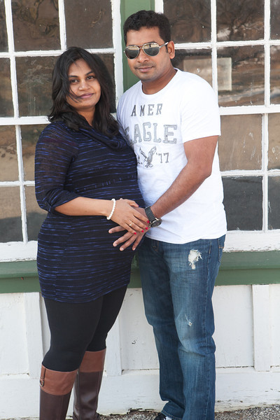 Shravanthi and Venki Maternity Session