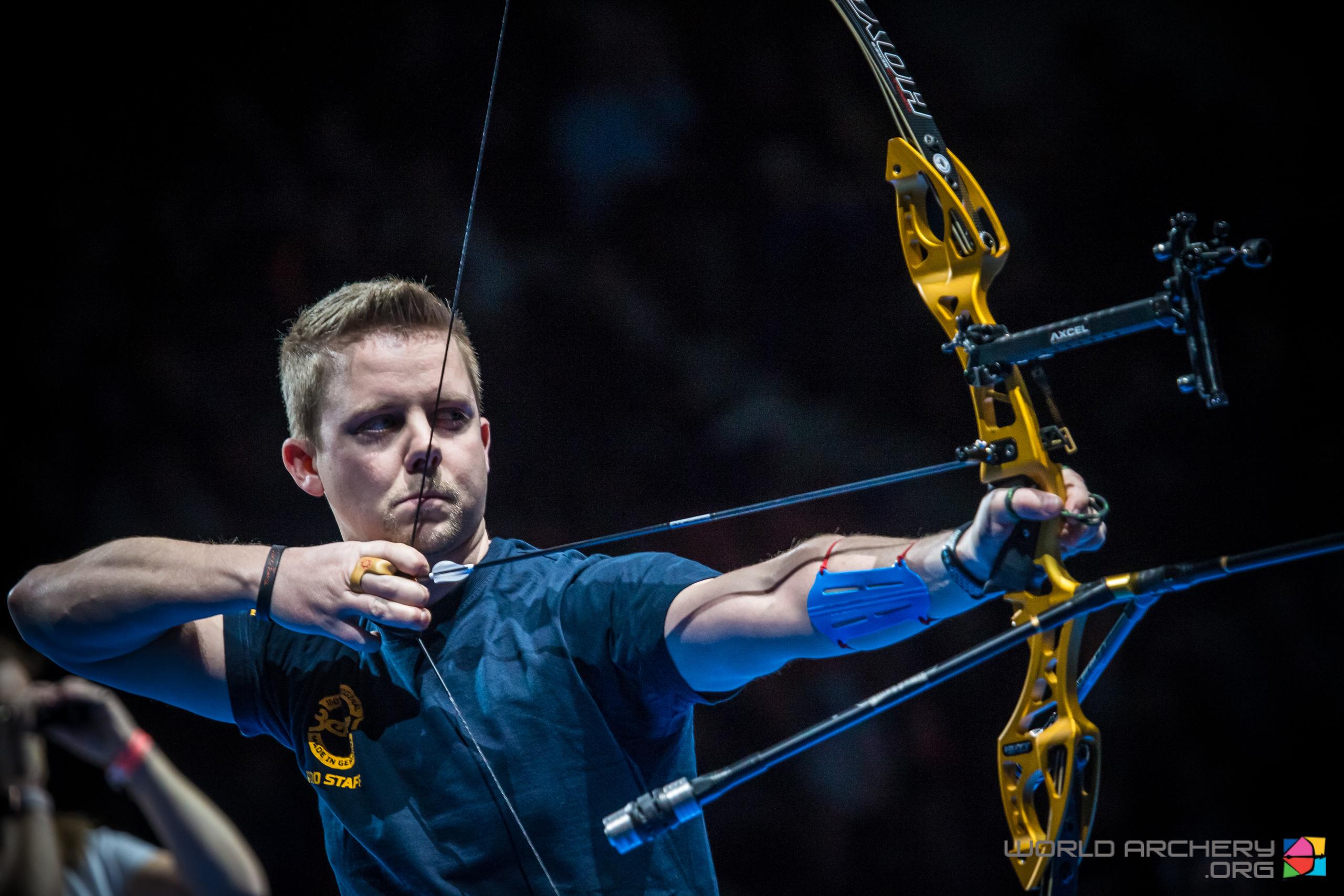Cedric Rieger belegt beim Hallen Weltcup in Nimes den 3. Platz