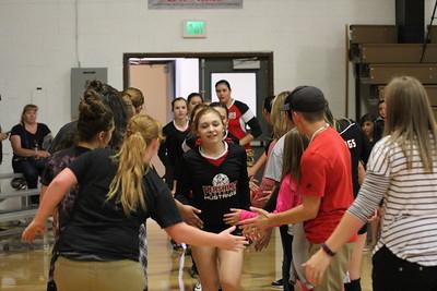 2017-09-19 Varsity Volleyball vs. Dayton