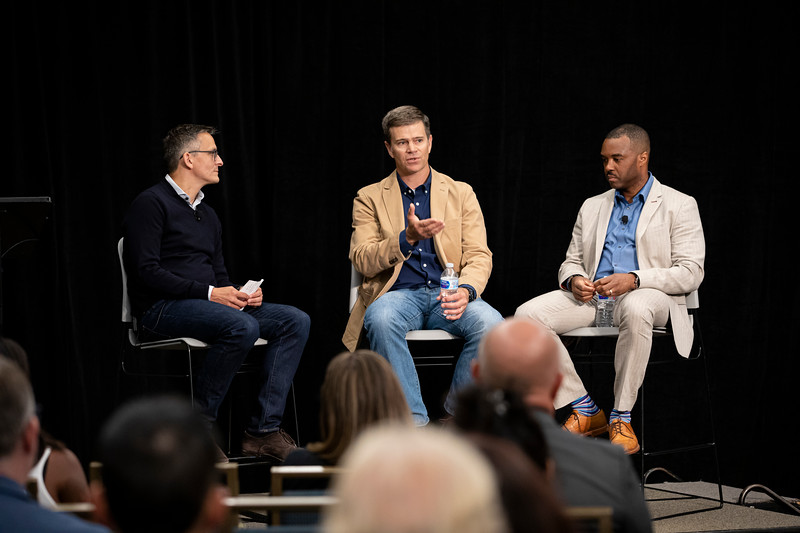 Neil Green, Chief Digital Officer & VP of Transformation, Otis, Mark Chaney, Precision Ag Job Automation, John DeerePANEL: The massive opportunities wrought by IoT and AI at the edgeMark Patel, Senior Partner, McKinsey