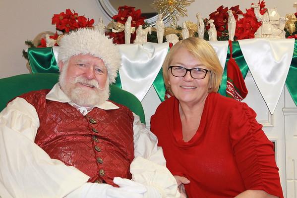 Santa visits DCC 2015