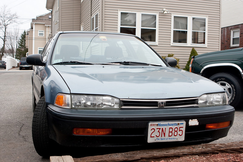 My old 1992 Honda Accord.