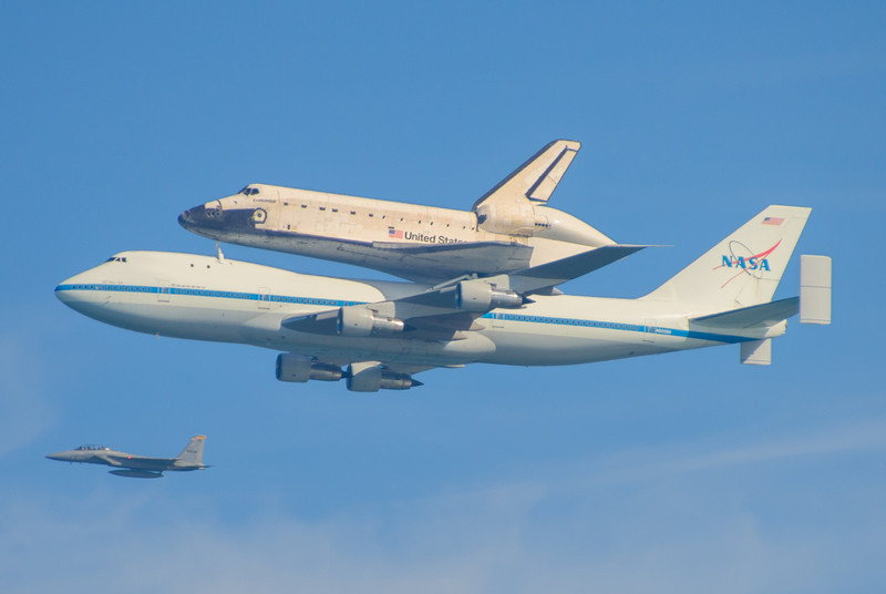 Final Flight of Endeavour - © 2012 Brian Neal