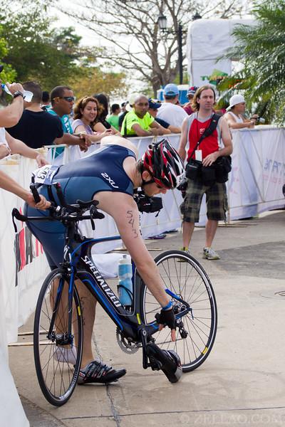 Samuel Jesselson at Ironman 70.3, Panama 2013.