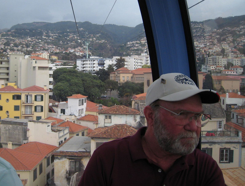Funchal, Madeira - Cable car ride up to Monte