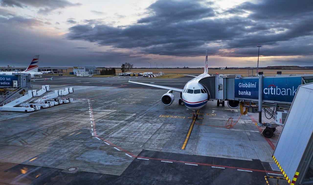 Departing for Paris