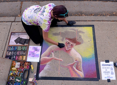 Photos: 2020 Longmont Chalk Art Festival