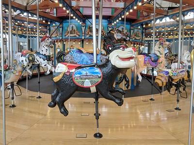 Carol Ann's Carousel - Smale Riverfront Park - Cincinnati - 22 Dec. '17