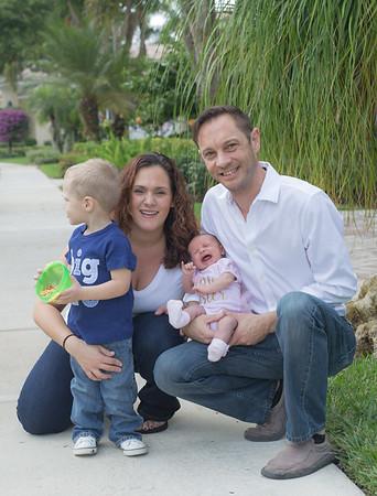 Newborn Baby Jocelyn's Family