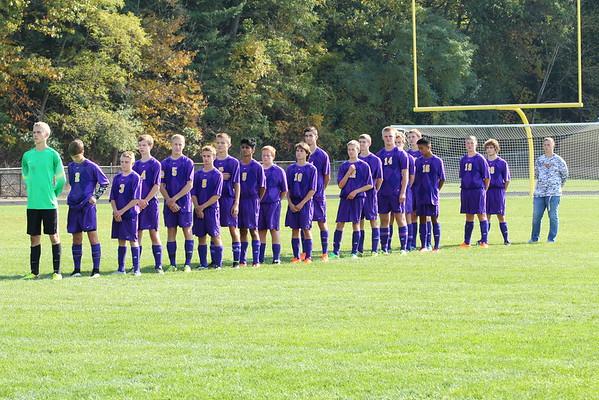 Boys District Soccer vs. Hillsdale - 10/21/15 - KCHS