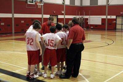 Middle School Boys Basketball 8B - 2006-2007 - 11/27/2006 Newaygo
