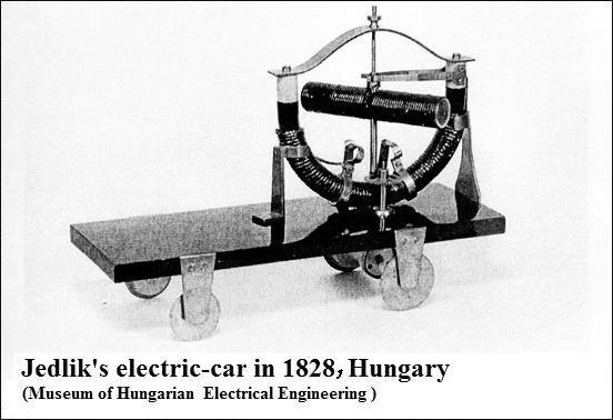 funney electric car